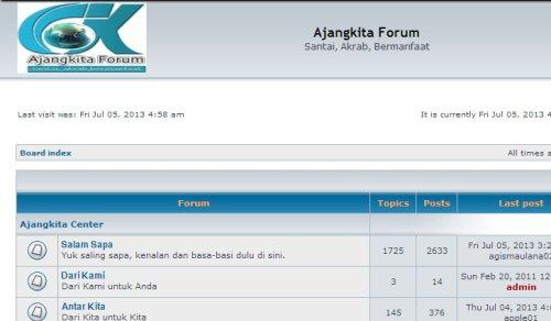ajangkita_forum