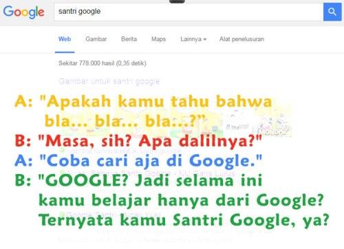 santri google