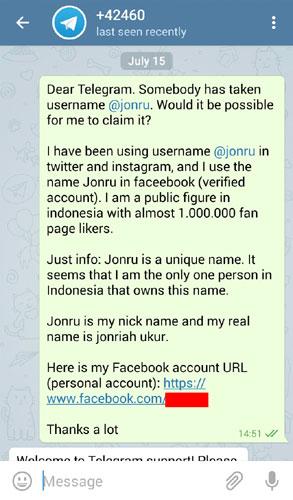 Telegram Jonru