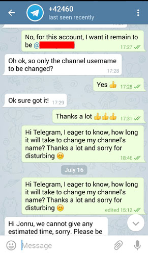 Telegram Jonru