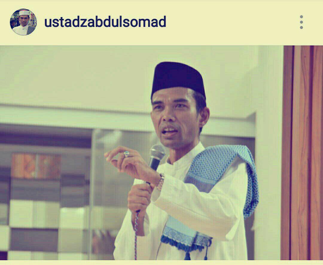 Ustad Abdul Somad, Ternyata Seperti Inilah Aslinya!
